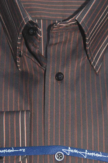 Mens brown dress shirts