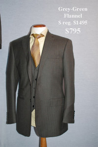 Custom suit, mtm suit size 42, 3 3pc suit