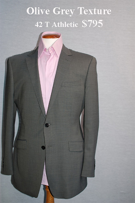mens custom suit size 42 t