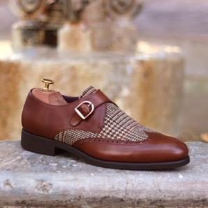 Mens MTM shoes and matching belt