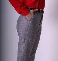 womens designer, custom tailored slacks in Vancouver, womens business clothing, Bespoke for women