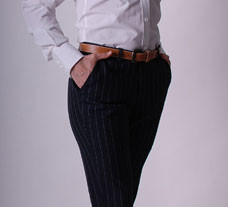 womens designer, custom tailored slacks in Vancouver, womens business clothing