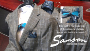 mens check suits for groomsmen