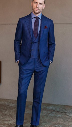 bespoke suits, suits made to measure suits, custom suits