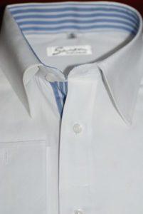 Designer single ply cotton shirt