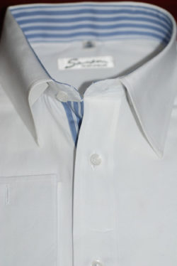 Designer single ply cotton shirt