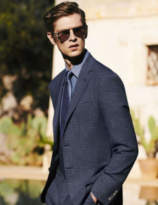 mens blue check suits, bespoke suits, suits made to measure suits, custom suits